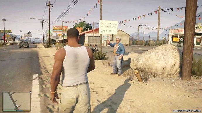 Grand Theft Auto V - знакомство с миром 6