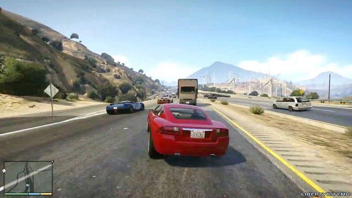 Grand Theft Auto V - знакомство с миром 9