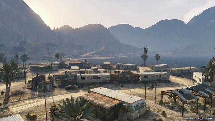 Grand Theft Auto V - знакомство с миром 1