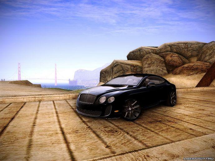 Бентли в пустыне