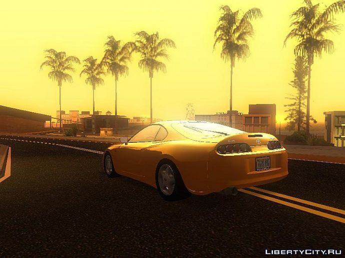 San Andreas sunset #1