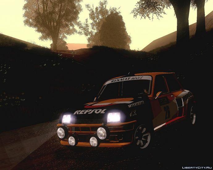 Renault 5gt turbo rally