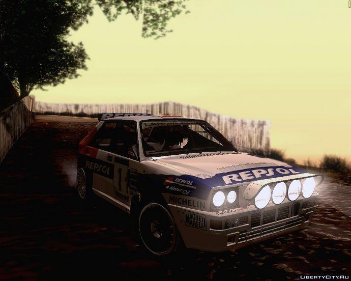 Lancia delta integrale (rally repsol)