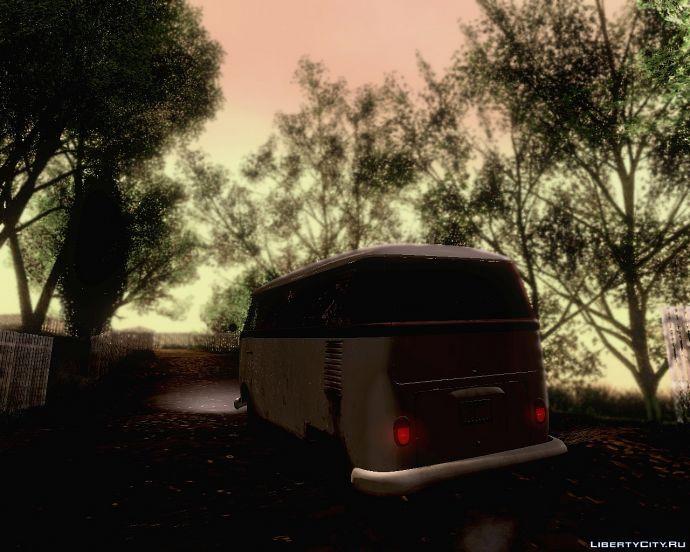 Volkswagen t1 van 1958