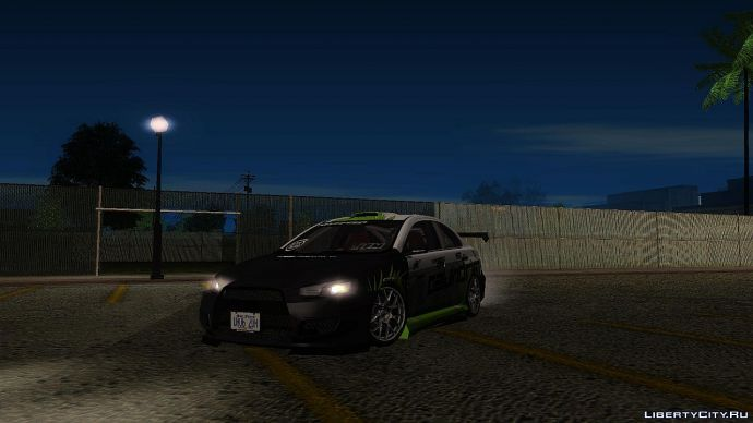 Mitsubishi Evolution X [Tunable]_2