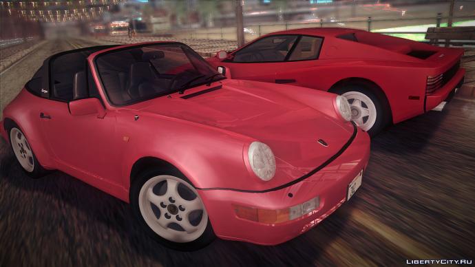Porsche 911 & Ferrari Testarossa