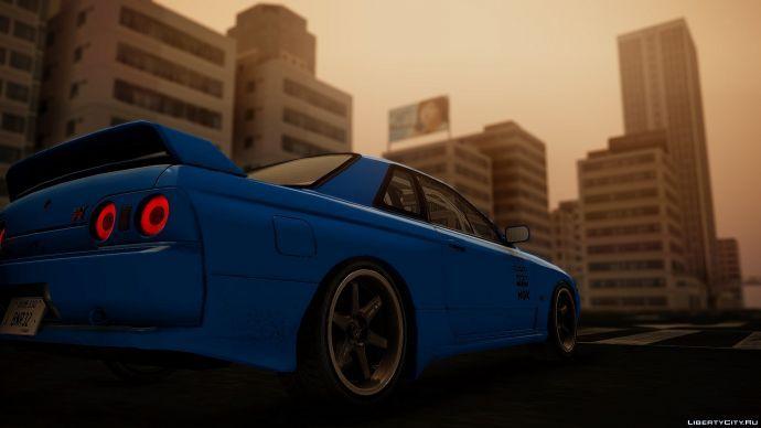 Nissan skyline R33 [LOTRS]