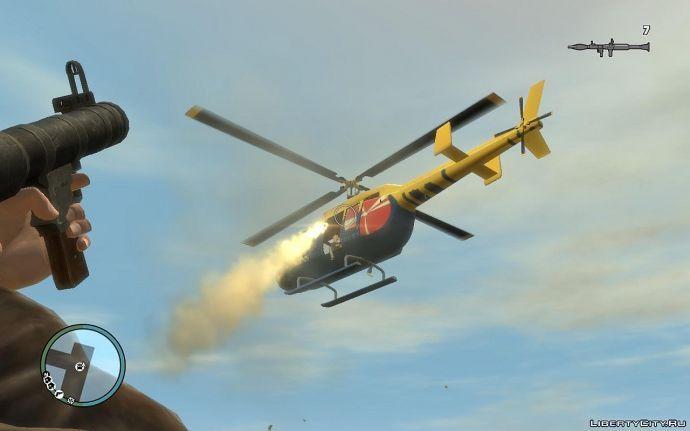 Вертолёт с рпг