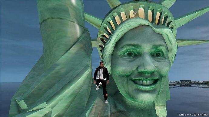 Улыбка статуи свободы