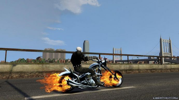 Ghost Rider the gta 4