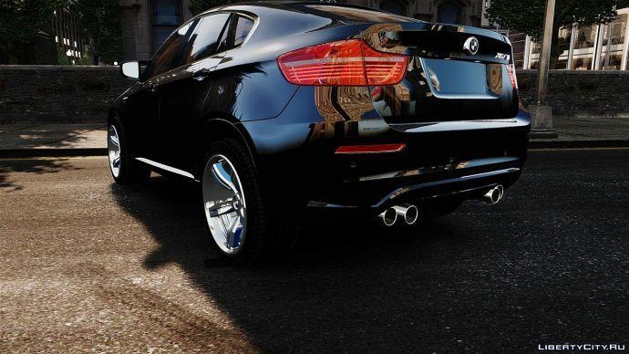 car back X6m