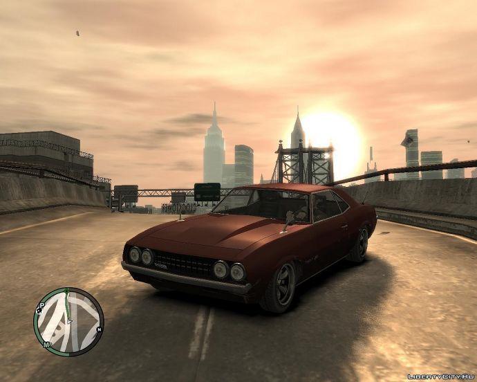 Закат в GTA 4