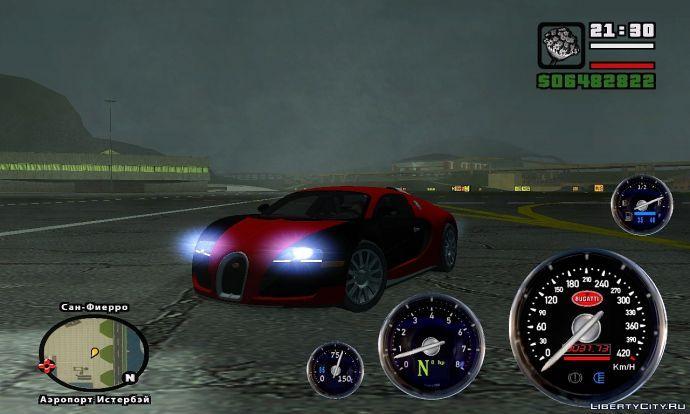 Veyron Speedometer