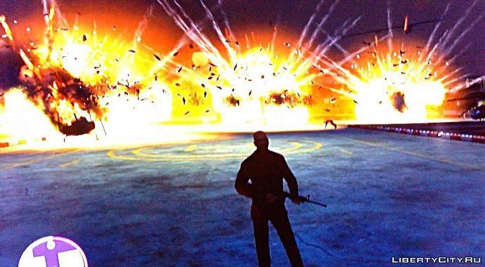 Красивый взрыв 1