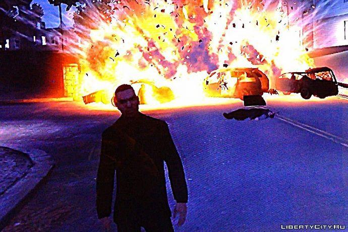 Красивый взрыв 2