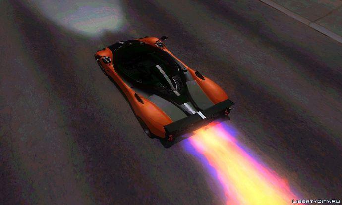 Pagani Zonda Cinque Roadster v2: Super Nitro.