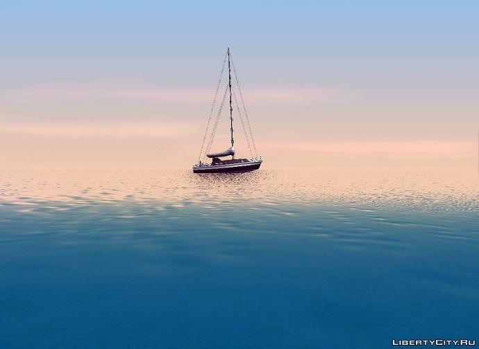 Море, яхта...
