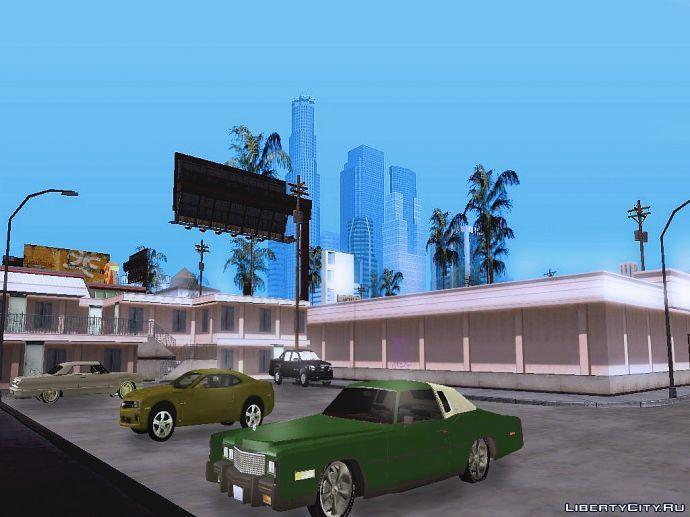 Мотель в Лос Сантосе.