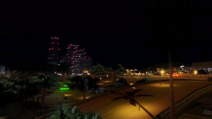 Los Santos in night
