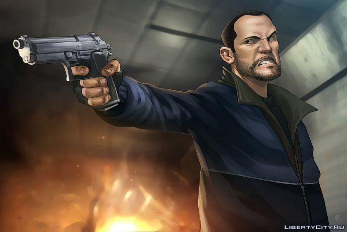 Niko Bellic by Patrick Brown