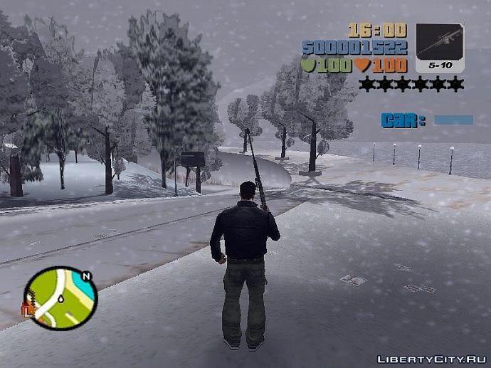 Зима GTA III