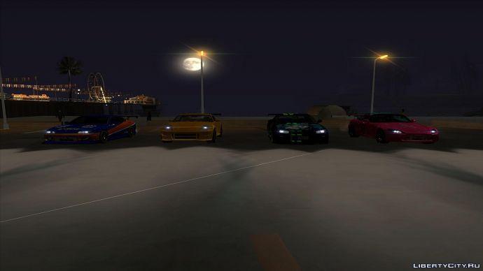 Street Racing in GTA