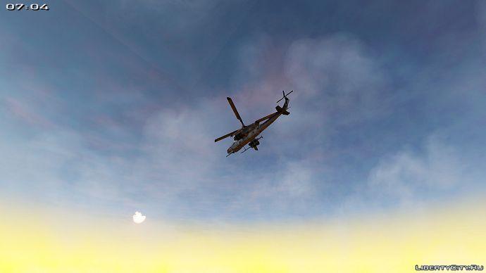 Полёт на рассвете!