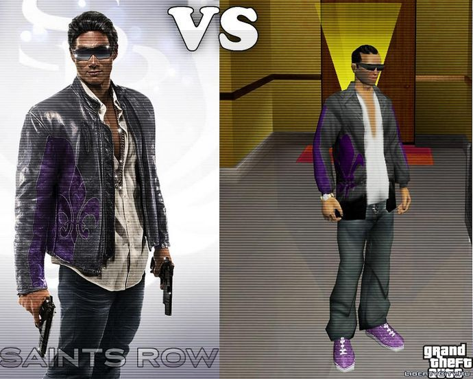 Saints Row. The Third vs GTA