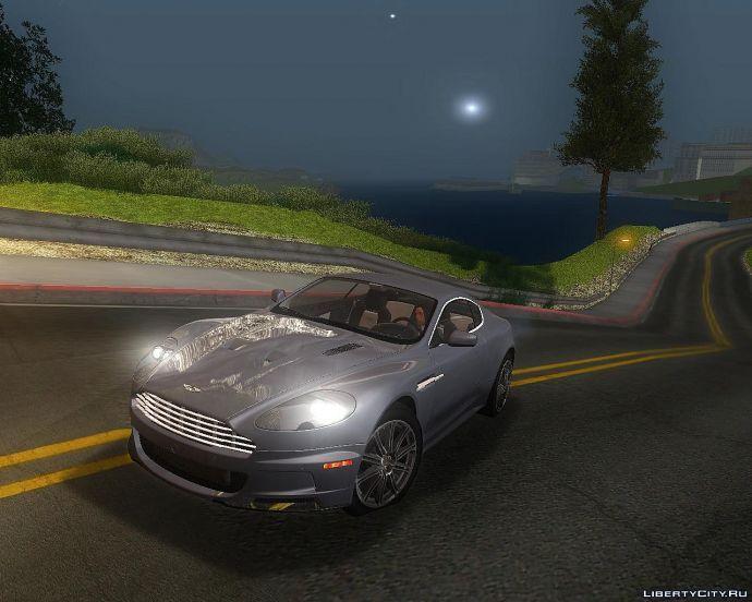 Aston Martin DBS. Сан-Фиерро.