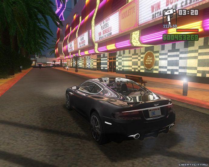 Aston Martin DBS. Лас-Вентурас.