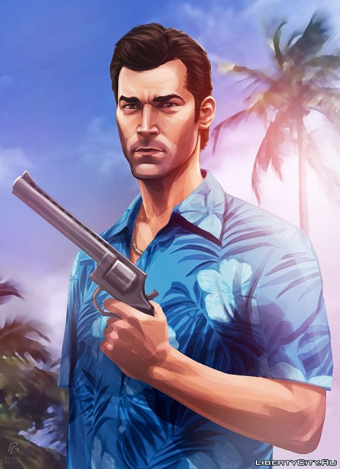Tommy Vercetti by Patrick Brown