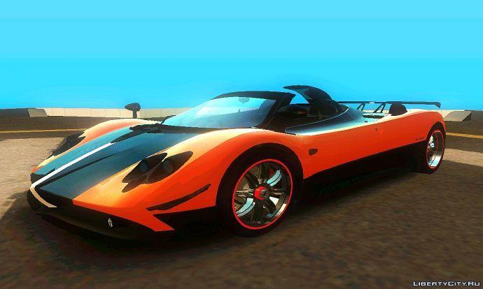 Pagani Zonda Cinque Roadster v3