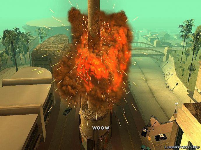Взрыв на фабрике