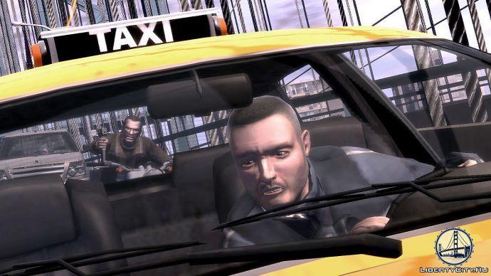 Такси в GTA 4