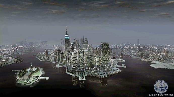 Панорама Либерти-Сити