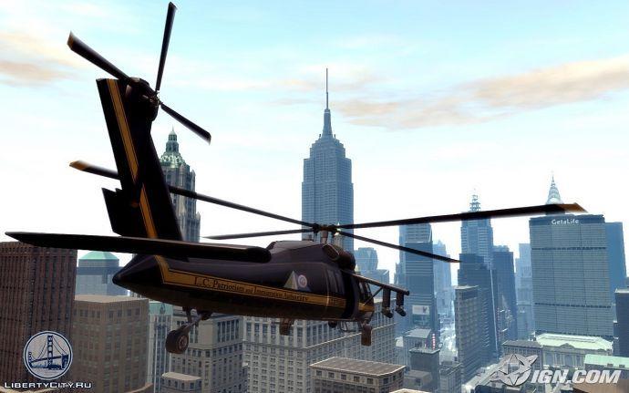 Вертолет в GTA 4