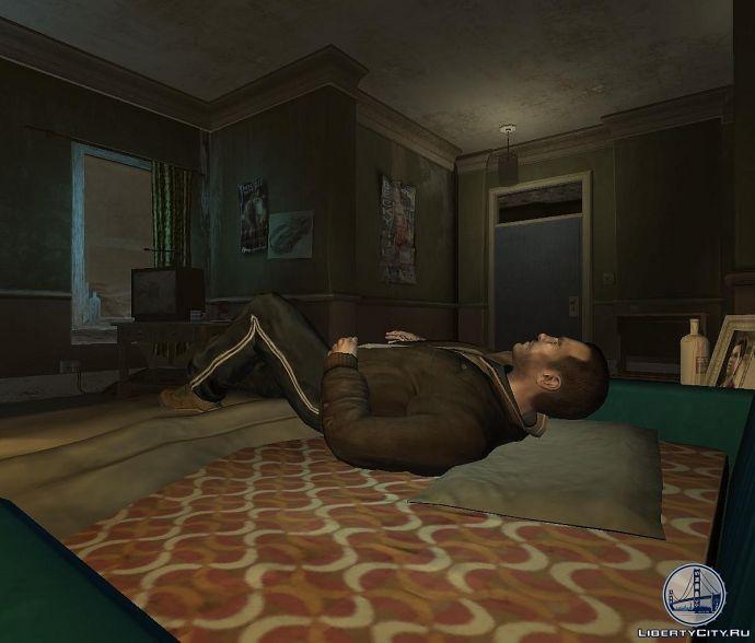 Отдых в GTA 4