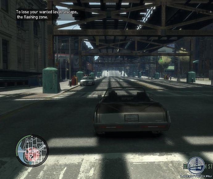 Уровень розыска в GTA 4
