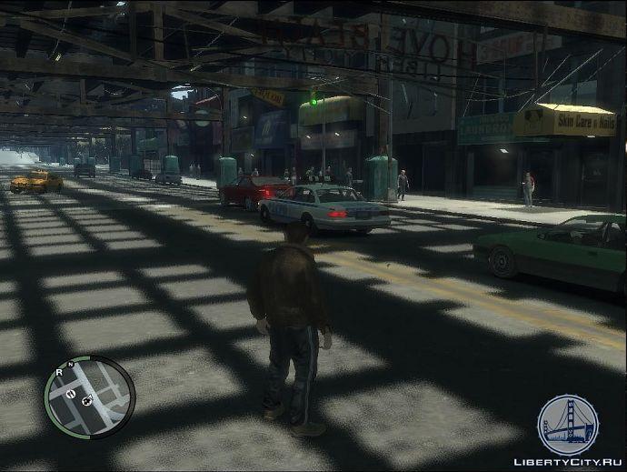Полицейские в GTA 4