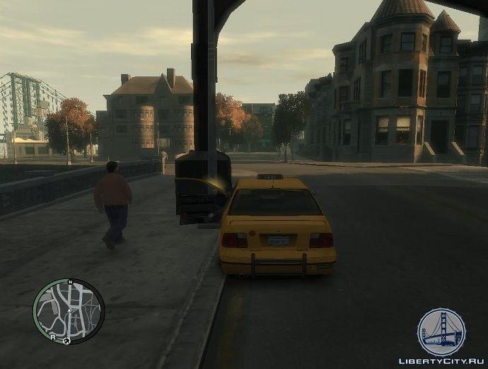 Работа таксиста в GTA 4
