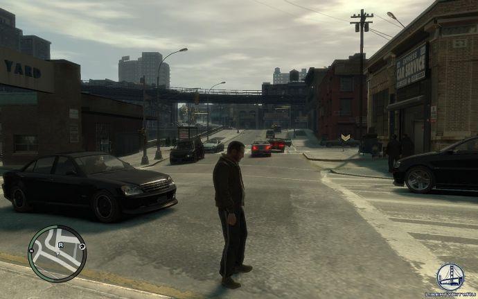 Пасмурная погода в GTA 4