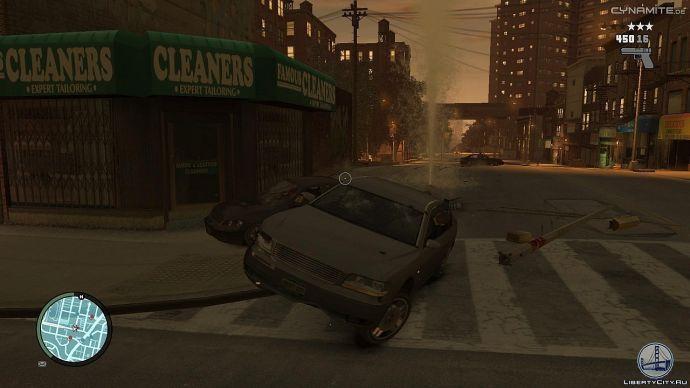 Сбили пожарный гидрант