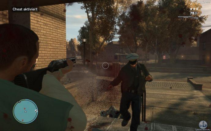 Убийство копа в GTA 4