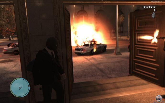 Уход из банка в GTA 4