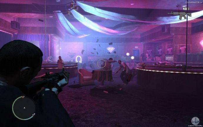 В клубе GTA 4