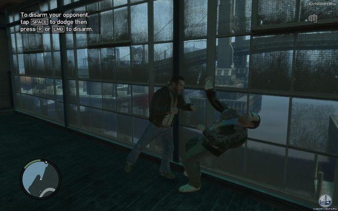 Нокаут в GTA 4