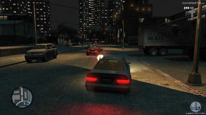 Ночной обстрел в GTA 4