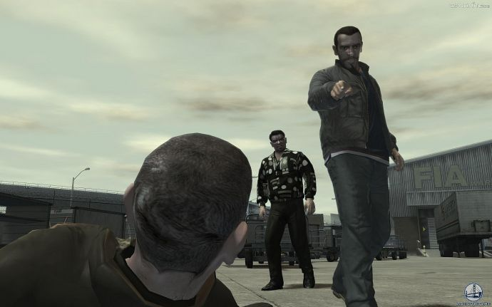 Нико и Роман в GTA 4