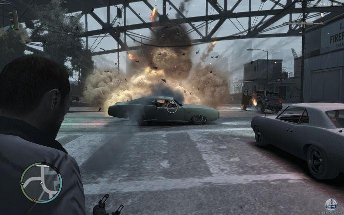 Клубы дыма в GTA 4