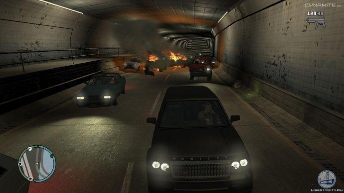 Авария в тоннеле